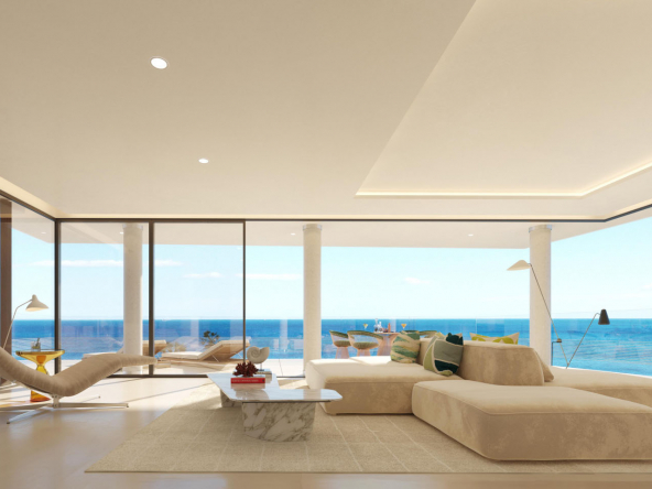 Fantastic Front Line Beach Development in Estepona Lounge