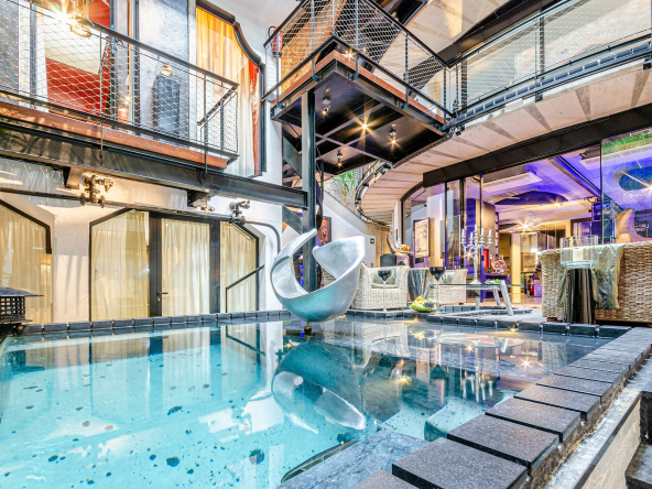 An Architectural Delight In The Innovation And Tech Hub Of Barcelona Heated Spa