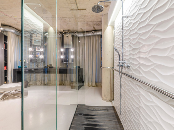 An Architectural Delight In The Innovation And Tech Hub Of Barcelona Bathroom