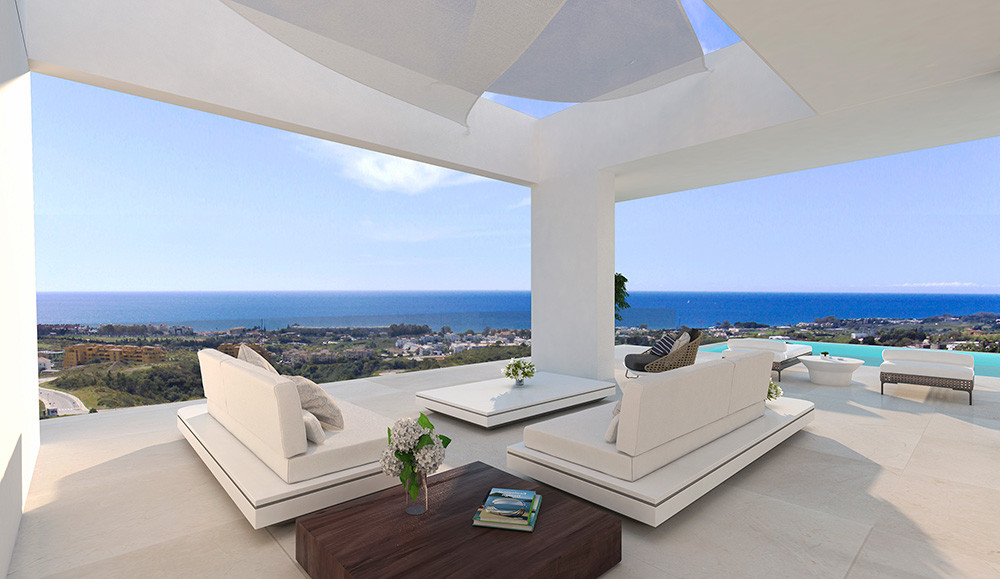 Luxury Contemporary Villa in Estepona Lounge