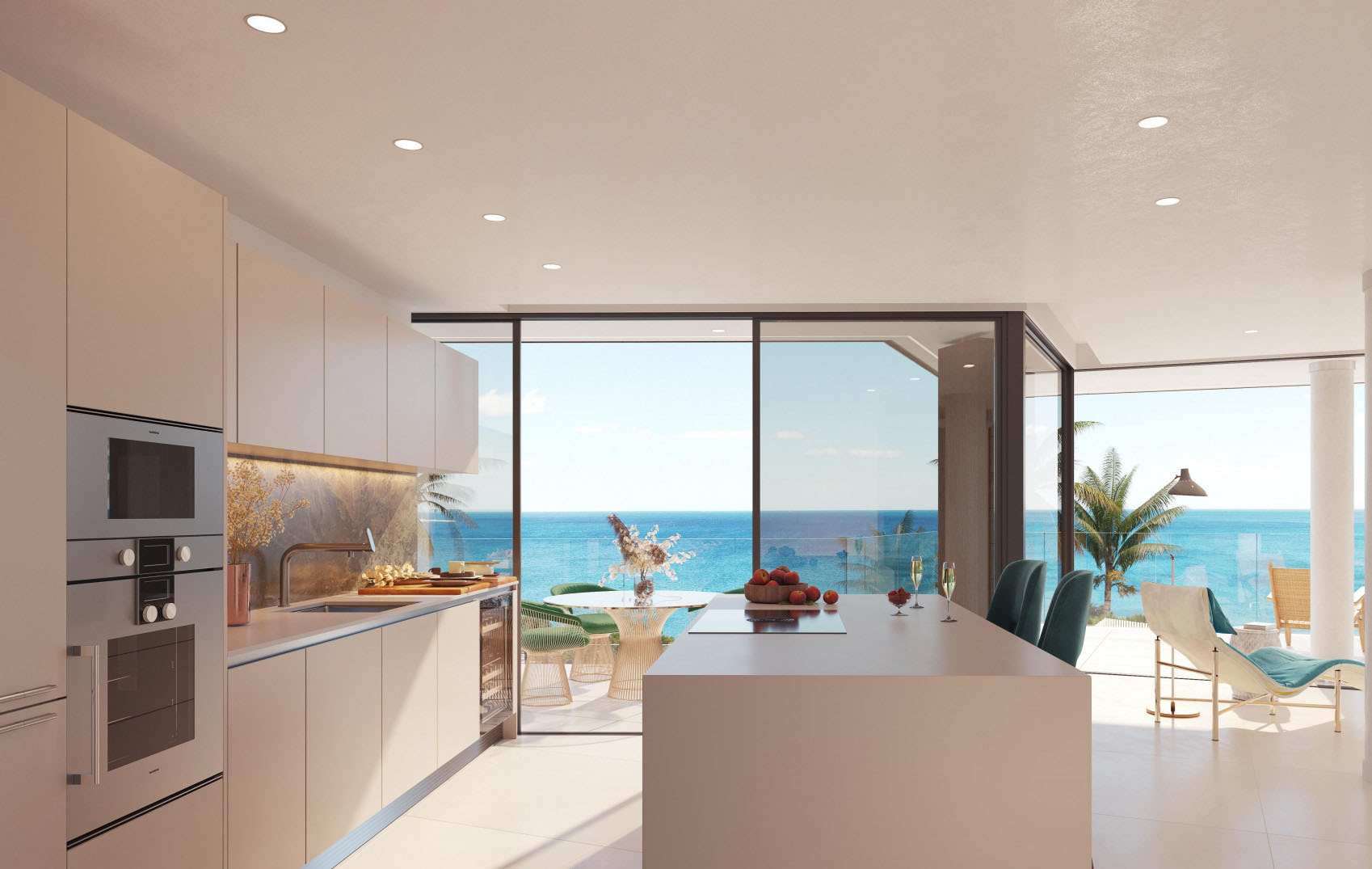 Fantastic Front Line Beach Development in Estepona Kitchen