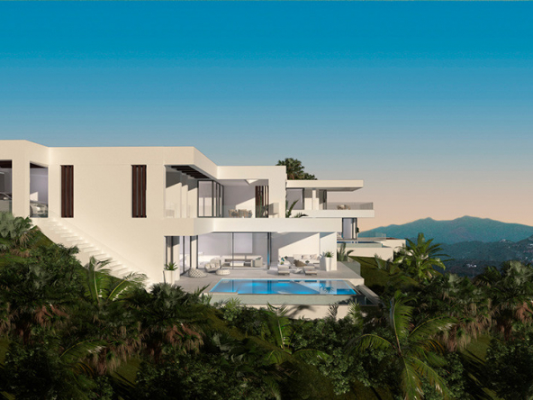 Luxury Contemporary Villa in Estepona View