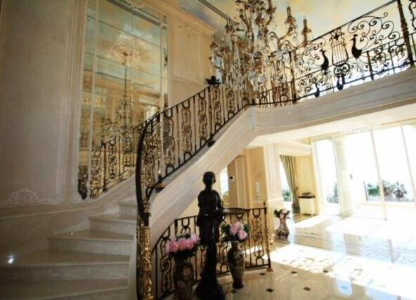 Property in Cannes with Sea View Stairs