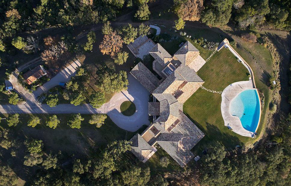 South of France Domaine de Provence Aerial