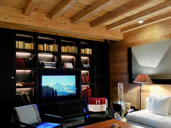 Exceptional Chalet on a Ski Area Living Room