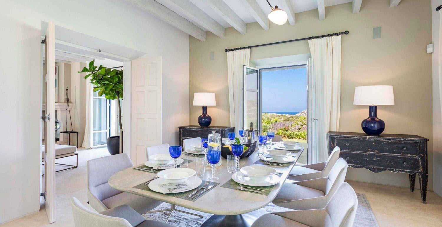 Exceptional Finca Close to Port Andratx Dining Room