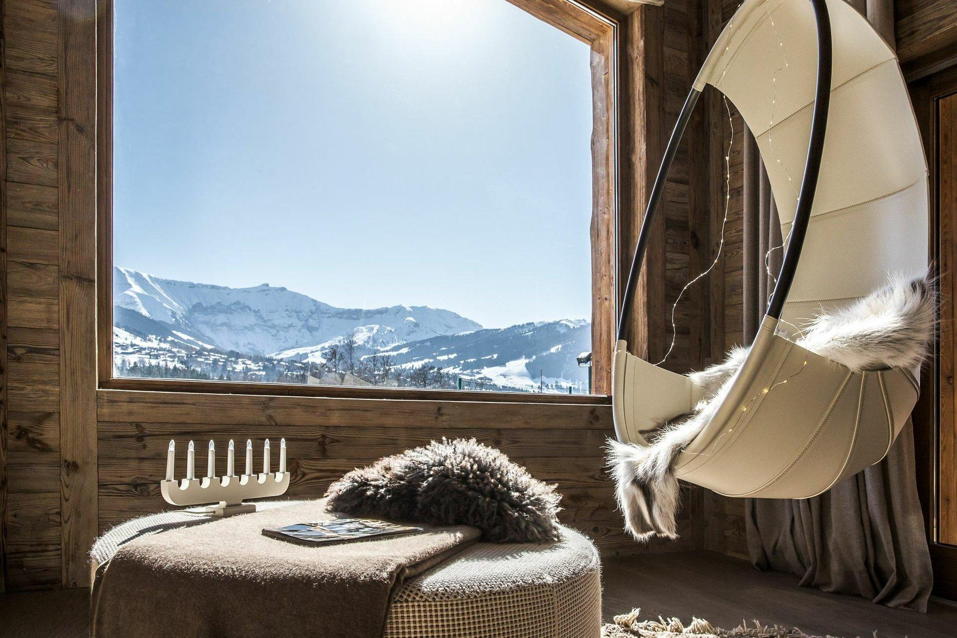 Holiday Chalet For Sale In The French Alps Bedroom
