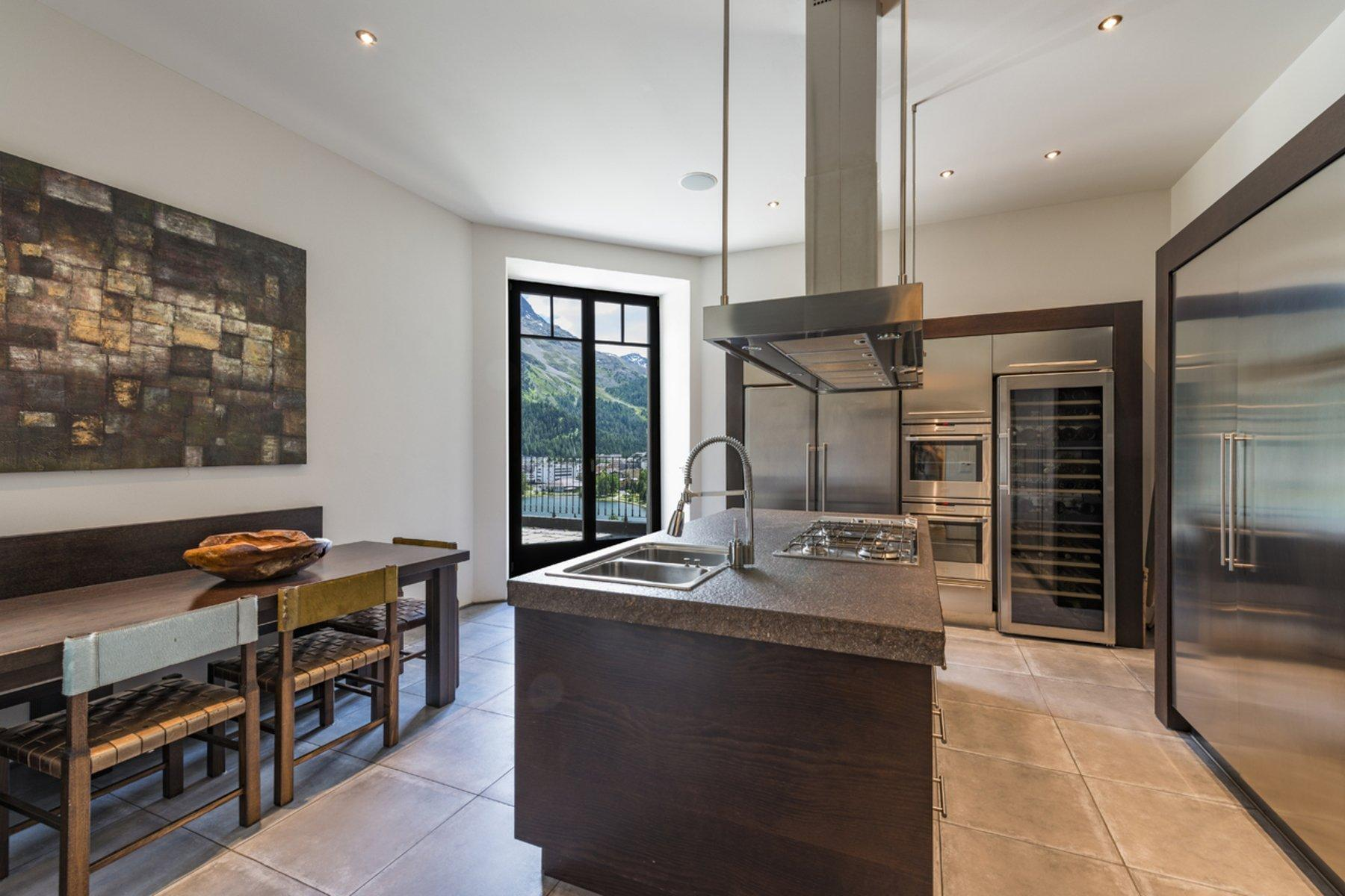 Living In A Top Location With Lake View Kitchen