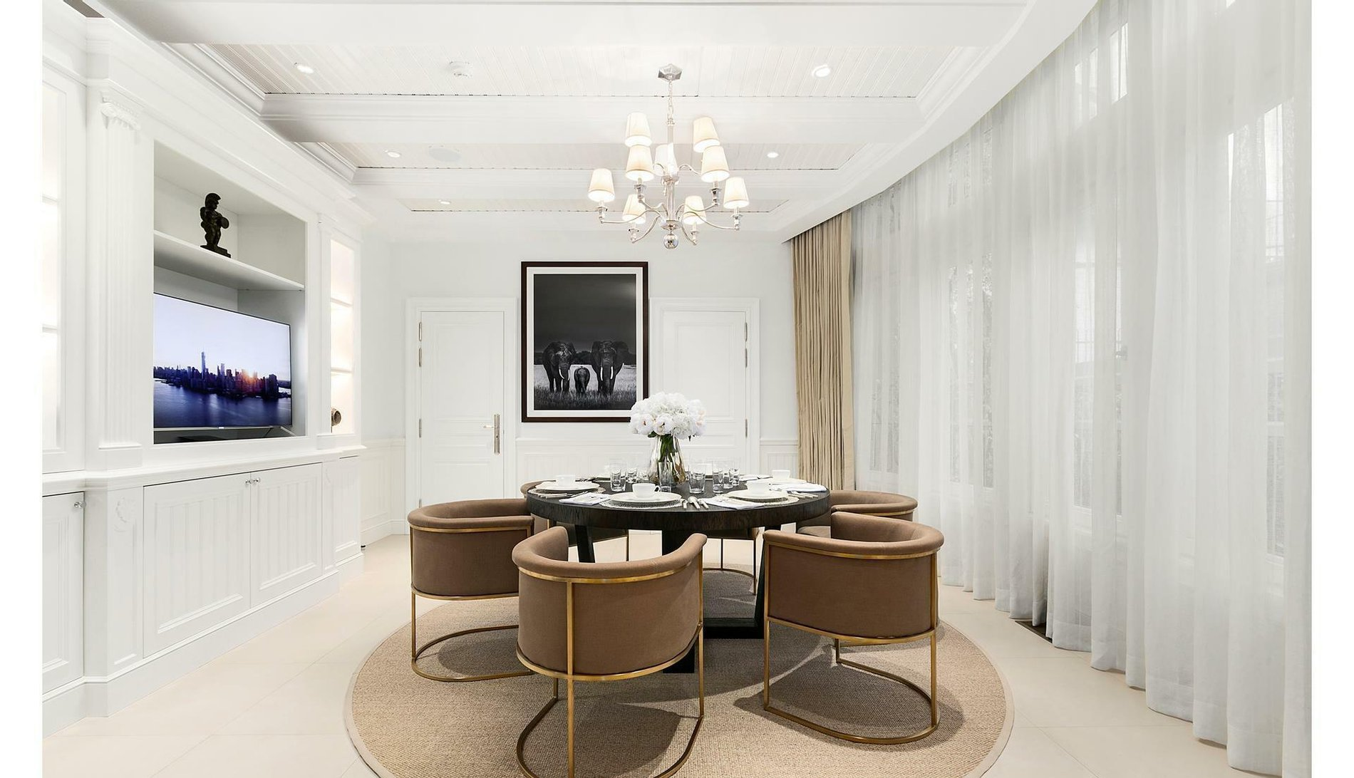 New York Townhouse Dining Room