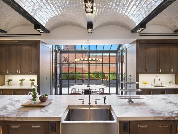 Unparalleled Private Penthhouse Kitchen