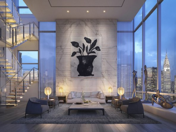 Dream Penthouse with Private Outdoor Pool and Jacuzzi Open Space