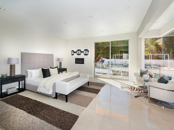 Meticulously Crafted Architectural Gem Bedroom